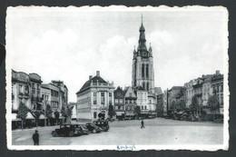 +++ CPA - COURTRAI - KORTRIJK - Grand Place Et Eglise St Martin - Nels Photothill   // - Kortrijk