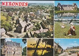 18----NERONDES--multi-vue-vue Générale Aérienne-château De Laverdines( Voiture DS )-voir 2 Scans - Nérondes