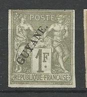GUYANE  N° 26 NEUF(*) SANS CHARNIERE / Signé CALVES - Guyane Française (1886-1949)
