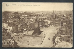 +++ CPA - COURTRAI - KORTRIJK - Grand'Place ,Beffroi Et Hôtel De Ville - Nels  // - Kortrijk