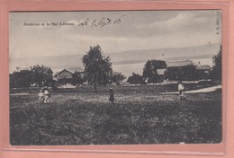 OUDE POSTKAART   ZWITSERLAND - SCHWEIZ -    SUISSE - ANIERES - STEMPEL GENEVE 1906 - GE Genève
