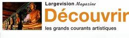 MP - LARGEVISION Magazine - DECOUVRIR Les Grands Courants Artistiques - Marque-Pages
