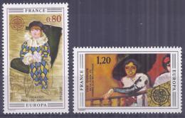 Francia 1975. YT = 1840-41 - Nuevos Sin Fijasellos (**). Europa - France