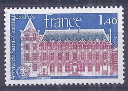 Francia 1979. YT = 2045 - Nuevo Sin Fijasellos (**). Abadia San German Des Pres - France