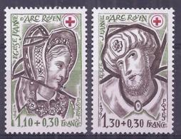 France 1979. YT = 2070-71 - Neufs Sans Charniere (**). Croix Rouge - France