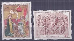 France 1969. YT = 1640-41 - Neufs Sans Charniere (**). Oeuvres D'art - France