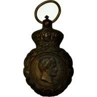 France, Médaille De Saint-Hélène, Médaille, 1857, Très Bon état, Bronze - Army & War