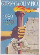 GIORNATA OLIMPICA VG AUTENTICA 100% - Giochi Olimpici