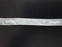 "BOUCHERON  ""  Ruban  Transparent  ""    Longueur  + 30 Cm !! - Modern (from 1961)"