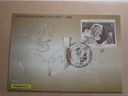 Italia - 2018 - San Pio Da Pietrelcina 50 Anni.della Scamporsa Di San Pio.. - 1946-.. République