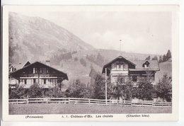 Suisse  VD   CHATEAU D'OEX   Les Chalets - VD Vaud