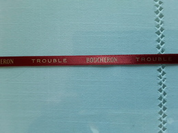 "BOUCHERON   Ruban  "" TROUBLE  ""    Longueur  + 24 Cm !! - Modern (from 1961)"