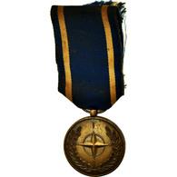France, Organisation Du Traité De L'Atlantique Nord, Médaille, Très Bon - Altri