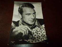 B702  Gary Cooper Non Viaggiata - Attori