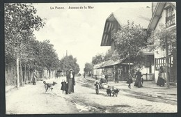 +++ CPA - DE PANNE - Avenue De La Mer - Attelage Chiens   // - De Panne