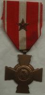 Médaille Guerre D'Algérie Croix De La Valeur Militaire Citation . FRENCH MEDAL . - Allemagne