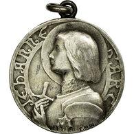 France, Médaille, Jeanne D'Arc, Blin, SUP, Argent - Francia