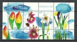 Estland Estonia 2003 Block Mi 19 Frühlingsblumen Flowers Michel 457 - 460 MNH - Estonie