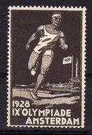Olympic Games 1928 Amsterdam Cinderella Stamp Mnh. - Summer 1928: Amsterdam