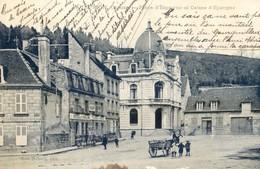 23 - Aubusson - Place D'Espagne Et Caisse D'épargne - Aubusson