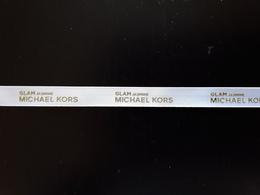 """MICKAEL  KORS   Ruban  """" GLAM Jasmine  """"    + 28  Cm !! - Perfume Cards"""