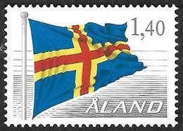 ALAND  1984   - YT 4 -  Drapeau D'Aland  --  Oblitéré - Finlande