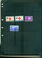 VIERGES FAIM-CROIX ROUGE-SHAKESPEARE 4 VAL NEUFS A PARTIR DE 0.50 EUROS - Iles Vièrges Britanniques