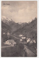 HUDAJUŽNA VILLA LUSINA BAHNHOF RAILWAY FERROVIA TRANSALPINA  1914 RAZGLEDNICA POSTCARD - Slovénie