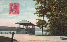 CPA- Scranton, Pa, Pavilion, Lake Scanton- Pennsylvania- 2scans - Other