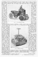 AVANT-TRAIN ELECTRIQUE ( VOITURE ELECTRIQUE )  1900 - Transportation