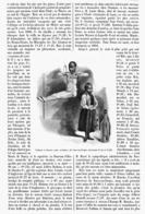 """"""" FATMA Et SMAUN """"   Les Deux NAINS Du NOUVEAU-CIRQUE   1900 - Théâtre"""
