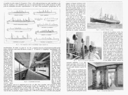 "LES GRANDS TRANSATLANTIQUES  Le  "" KAISER WILHEM DER GROSSE  ""   1900 - Boats"