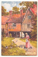 Kent The Lych Gate Penshurst - Peintures & Tableaux