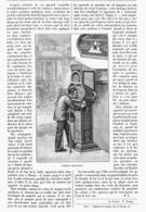 L'OPTICIEN AUTOMATIQUE   1900 - Santé