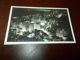 B702  Rio De Janeiro Cm14x9 Residui Carta Al Retro - Brasile