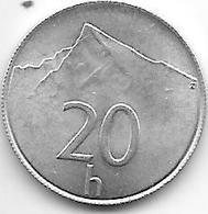 *slovakia 20 Halierov  1993 Km 18  Unc !!! - Slovaquie