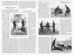 LE VELO-BRANCARD  1900 - Transports