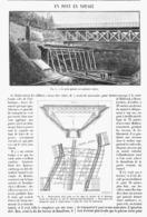 UN PONT En VOYAGE  1900 - Technical