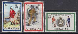 Gibraltar 1972 Pioniers 3v ** Mnh (41485M) - Gibraltar
