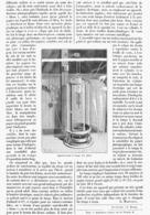 """PHOTOGRAPHIE INDUSTRIELLE  """" TIRAGE Des PLANS """"   1900 - Photographie"""