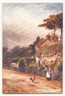 COTTAGE HOMES NEAR FARRINGFORD FRESHWATER - Peintures & Tableaux