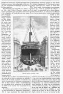 """LES GRANDS TRANSATLANTIQUES  Le  """" L'OCEANIC  """"   1900 - Boats"""