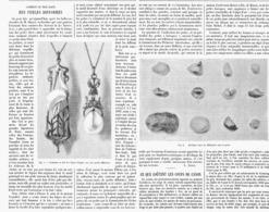 COMMENT On TIRE PARTI Des PERLES DIFFORMES  1900 - Jewels & Clocks