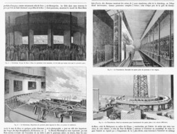 """"""" EXPOSITION 1900  """"  """" LES PAPANORAMA DE L'EXPOSITION """" LE STEREORAMA Et Le TRANSSIBERIEN 1900 - Paris"""