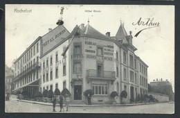 +++ CPA - ROCHEFORT - Hôtel Biron - Cachet Taxe 1906 - Nels   // - Rochefort