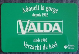 Petit Calendrier De Poche Plastifié 1994 Pharmacie VALDA - Format Carte Bleue - Calendars