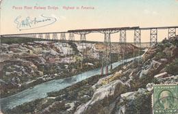CPA- Pecos River Railway Bridge. Highest In America -(San Antonio And EL Paso)-train Sur Le Pont- 2scans - El Paso
