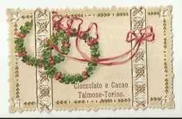 """1992 """" TALMONE-TORINO-CIOCCOLATO E CACAO-BIGLIETTO PUBBLICITARIO ANNI '20/'30 """" BIGLIETTO ILL. ORIG. - Altre Collezioni"""