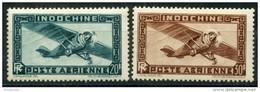 Indochine (1949) PA N 46 à 47 * (charniere) - Indochine (1889-1945)