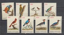 """VATICAN  1989  N° 852 / 59  Neuf X X Série Compléte.8 Valeurs """"OISEAU"""" - Vatican"""